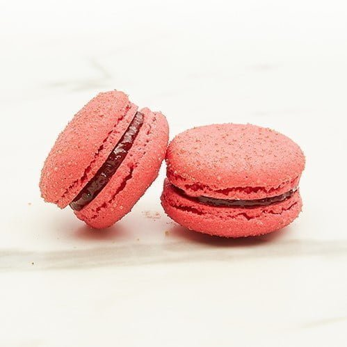 Macaron Raspberry Vegan