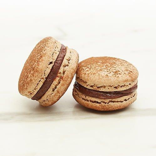 Macaron Chocolate Vegan